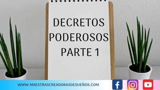 6. DECRETOS PODEROSOS PARTE 1